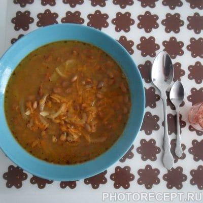 Фасолевый суп - рецепт с фото