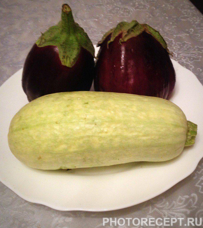 Фото рецепта - Жареные кабачки в чесночном соусе - шаг 1