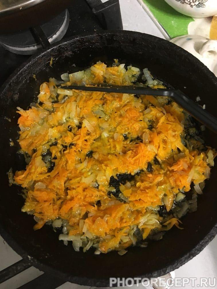 Фото рецепта - Суп «3D» с клецками-диетический, душевный, деликатный - шаг 3