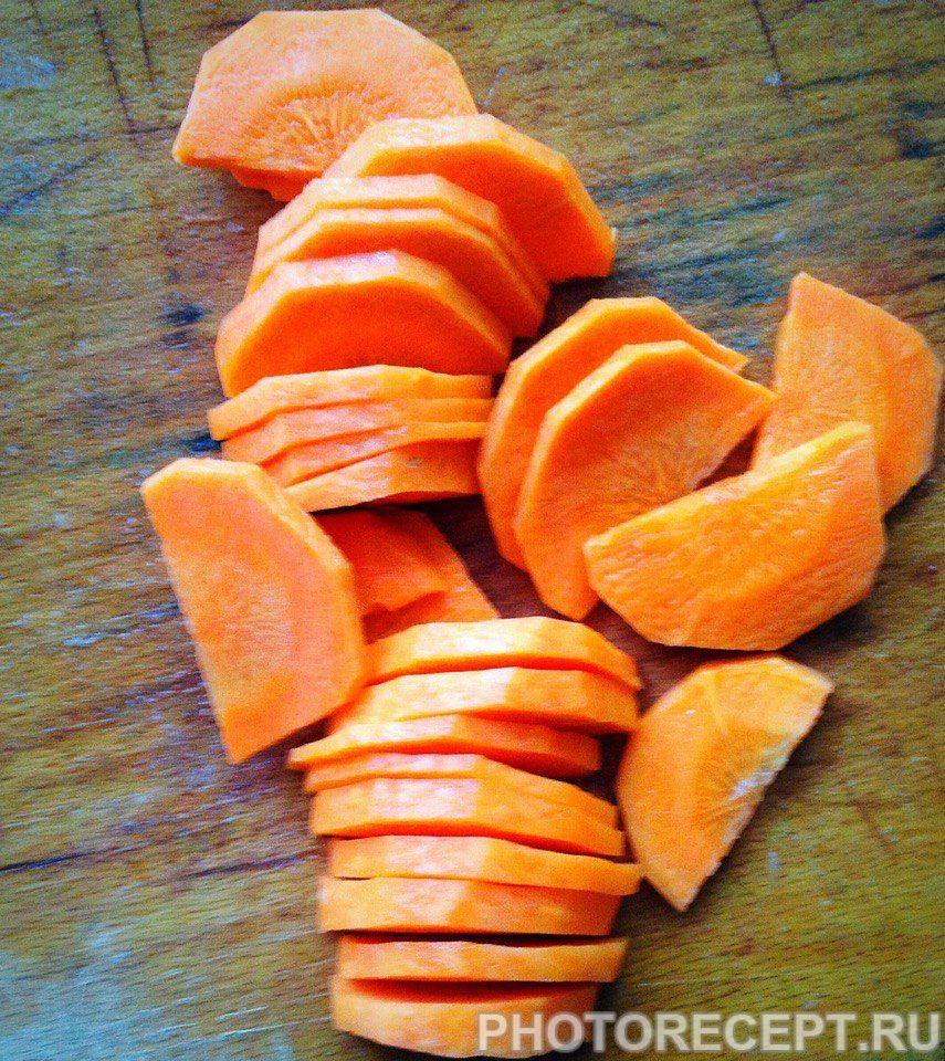 Фото рецепта - Суп из сушеных лесных грибов - шаг 4