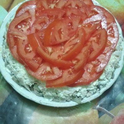 Салат из помидоров и мяса «Мужское наслаждение» - рецепт с фото