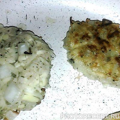 Фото рецепта - Драники без яиц - шаг 6