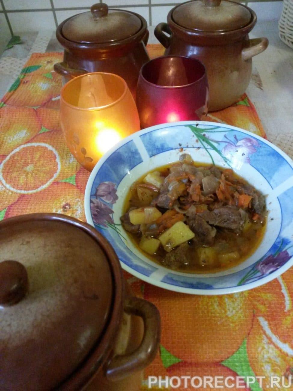 Рецепт мясо в горшочке рецепт пошаговый