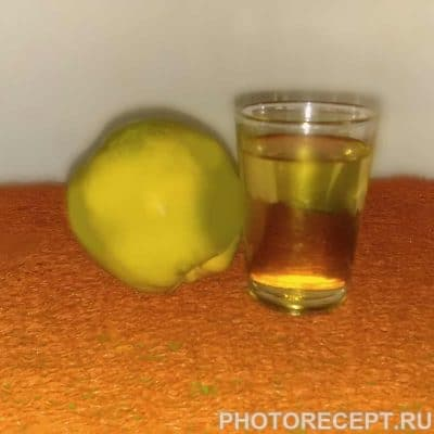 Ликер из айвы и ананаса - рецепт с фото