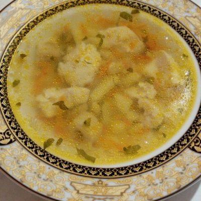 Рыбный суп из филе щуки - рецепт с фото