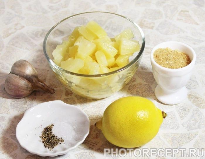 Фото рецепта - Кисло-сладкий соус из ананасов - шаг 1