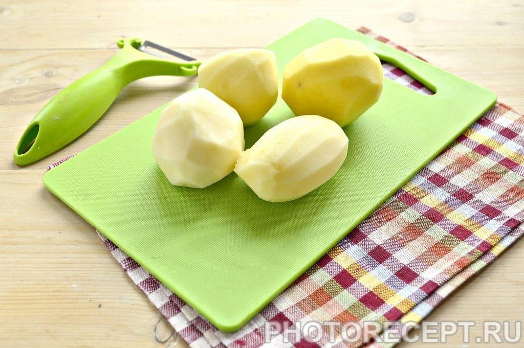 Фото рецепта - Картошка по-французски в духовке - шаг 1