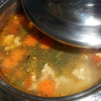 Суп куриный с вермишелью - рецепт с фото