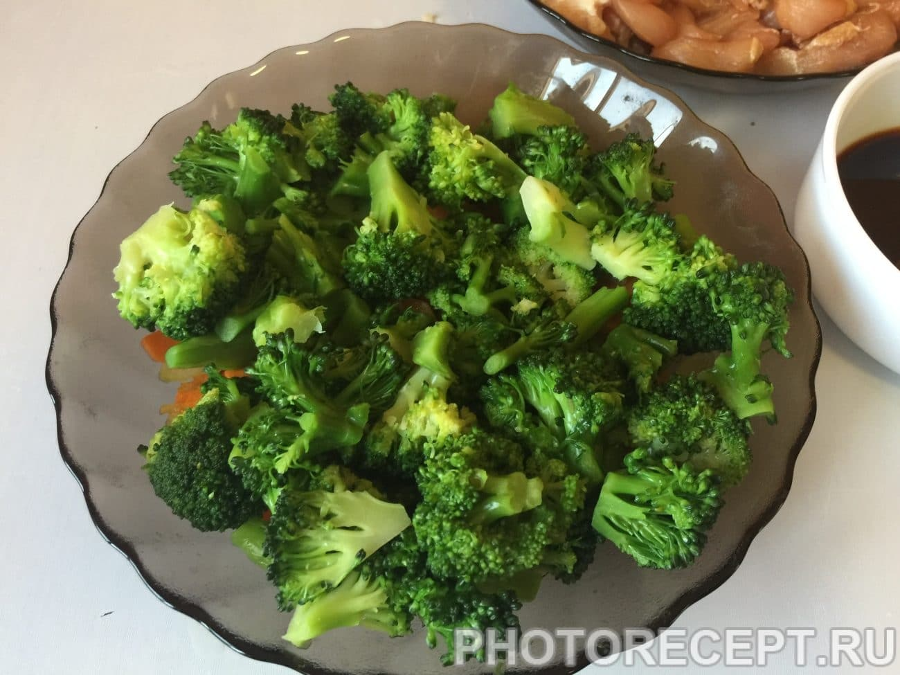 Мясо с брокколи рецепт пошагово