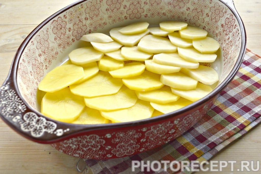 Фото рецепта - Картошка по-французски в духовке - шаг 2