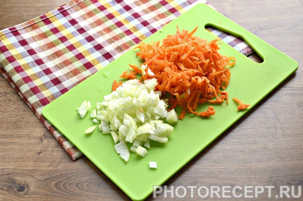 Фото рецепта - Рис с мясом на сковороде - шаг 2
