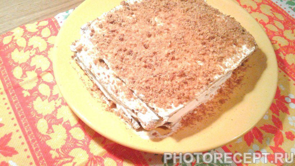 Торт «Сметанный медовик» - рецепт с фото