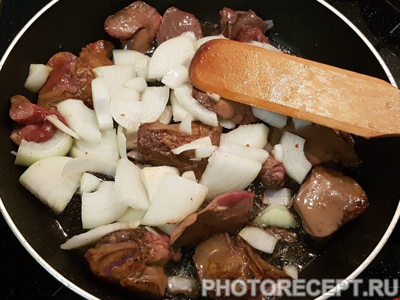 Рецепт паштета из куриной печени фото пошагово