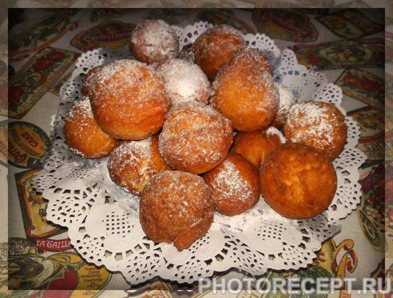 Пончики из творога рецепт пошагово пышные с содой