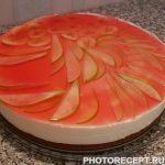 Творожный торт на бисквитной основе