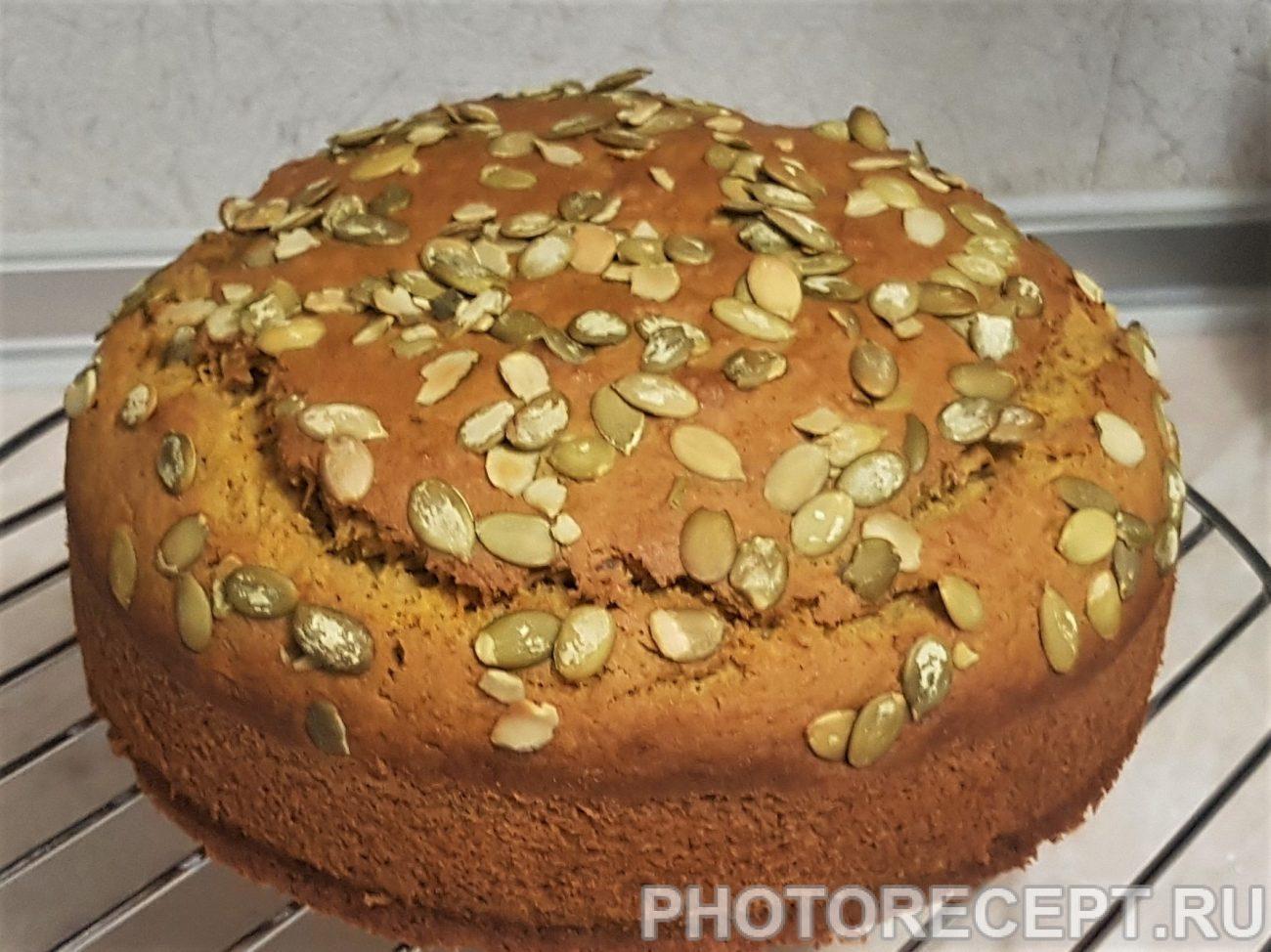 Пряный пирог из тыквы
