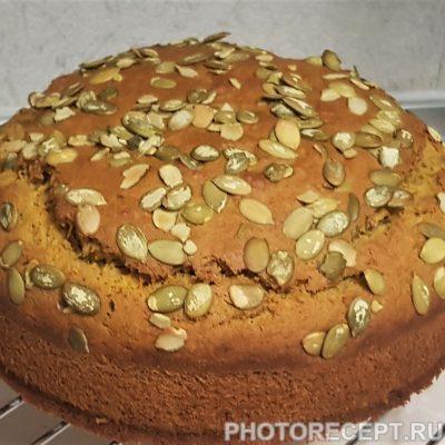Пряный пирог из тыквы - рецепт с фото
