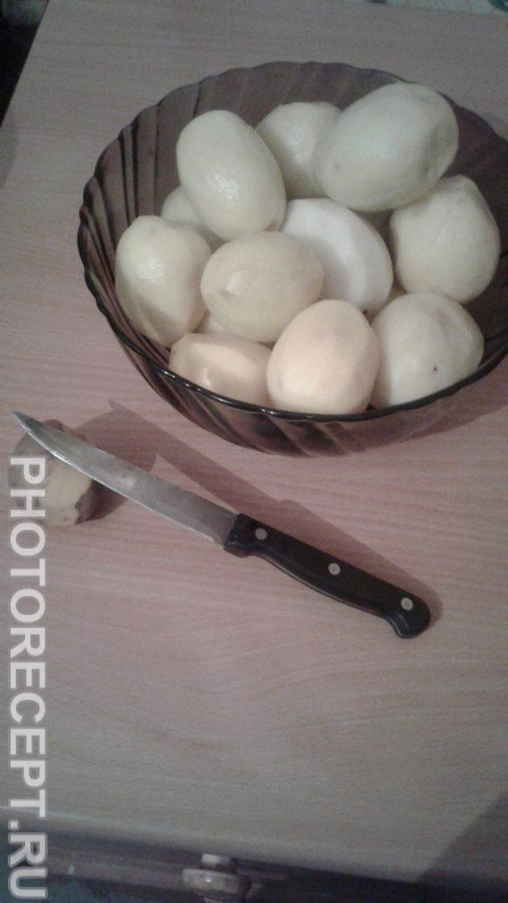 Фото рецепта - Картофель фаршированный мясом - шаг 1