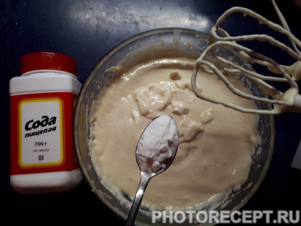 Фото рецепта - Бездрожевые оладьи на кефире - шаг 3