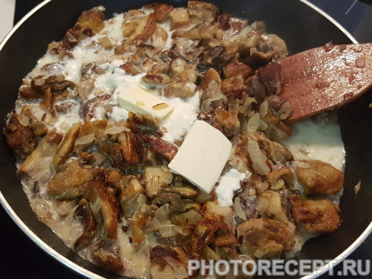 Белые грибы в сметане и 15 похожих рецептов