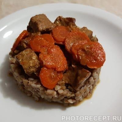 Фото рецепта - Гречневая каша с говядиной - шаг 5