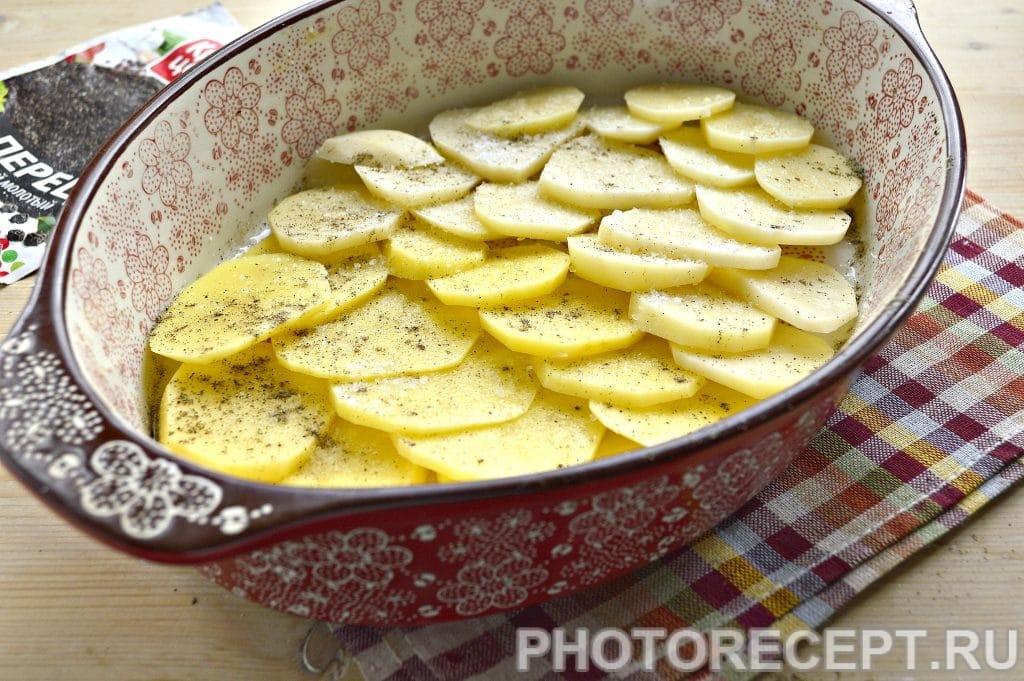 Фото рецепта - Картошка по-французски в духовке - шаг 3