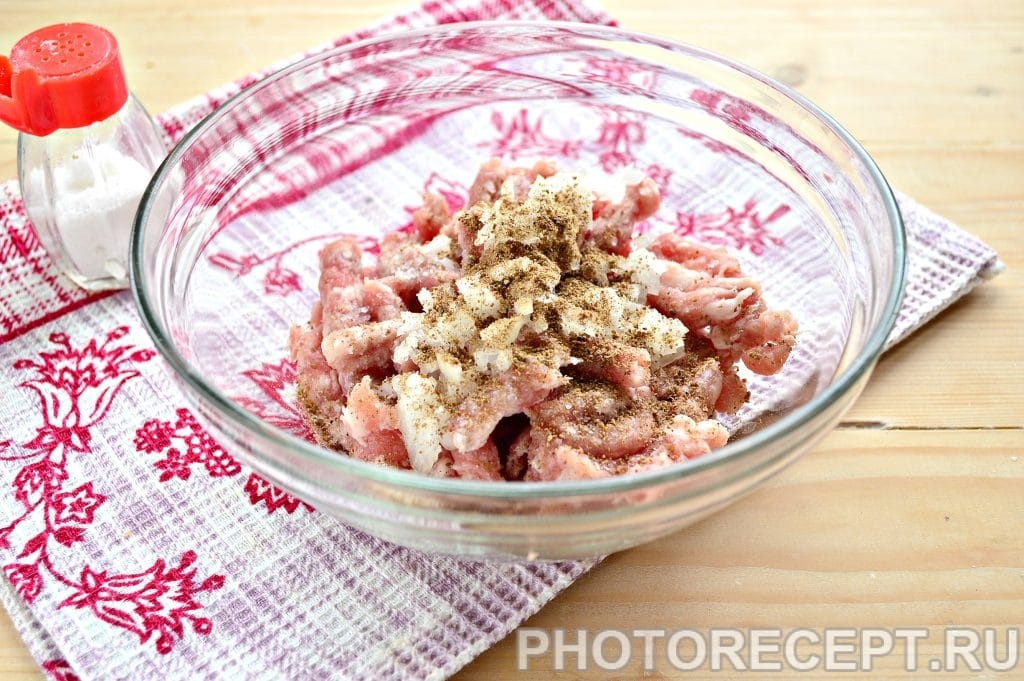 Фото рецепта - Беляши с мясным фаршем на сковороде - шаг 4