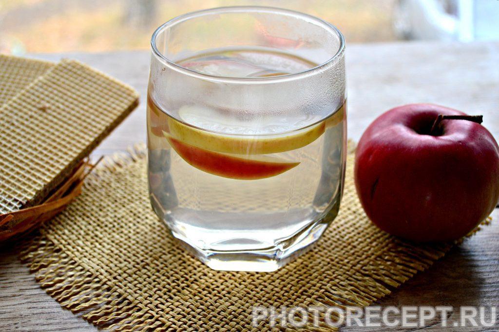 Фото рецепта - Компот из свежих яблок - шаг 6