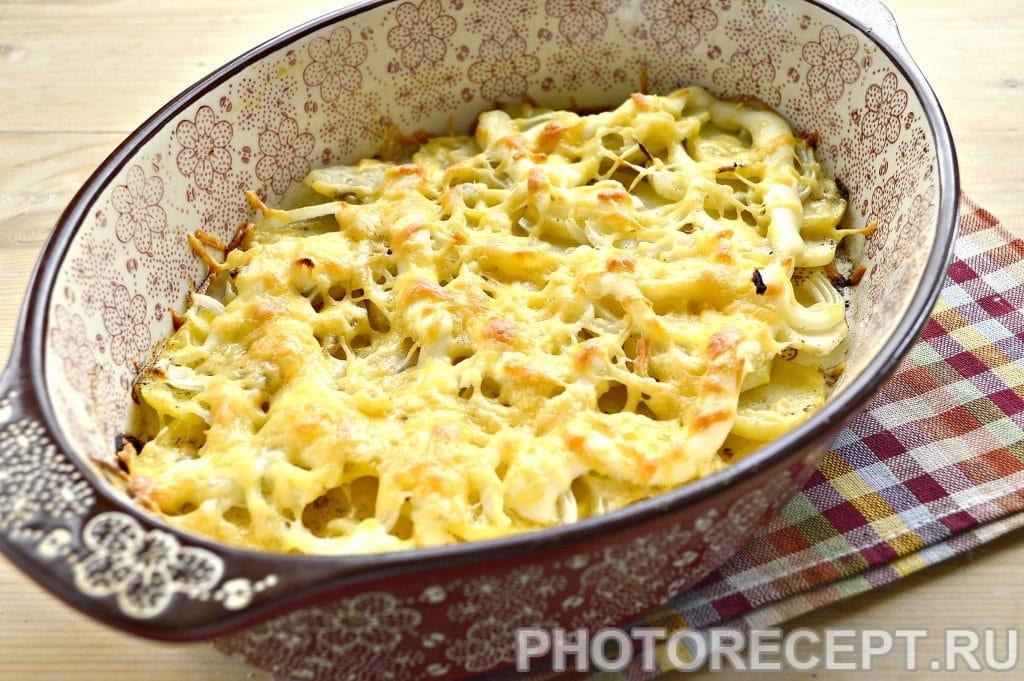 Фото рецепта - Картошка по-французски в духовке - шаг 7