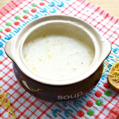 Молочный суп с вермишелью - рецепт с фото