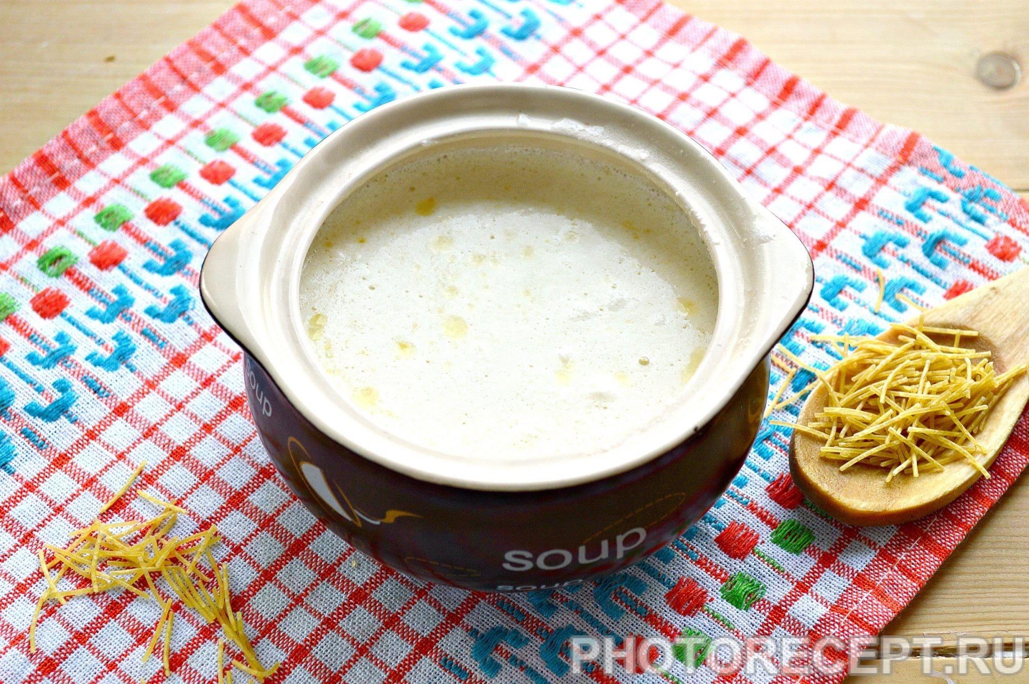 Как варить молочный суп с макаронами рецепт в домашних условиях
