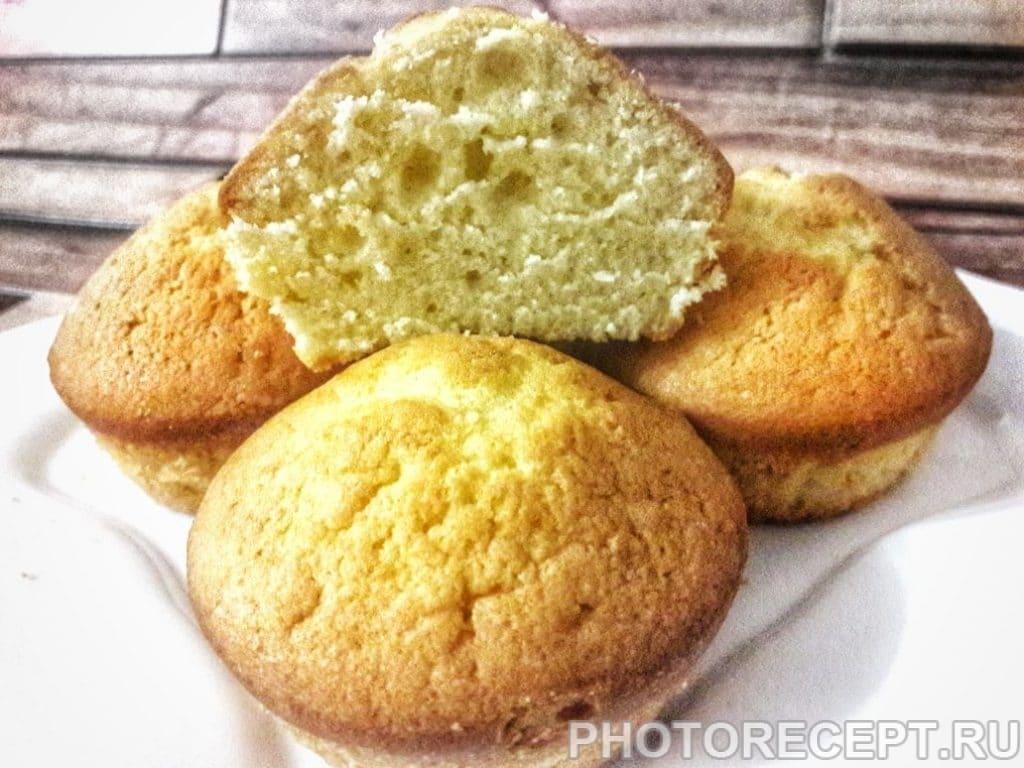 Фото рецепта - Тесто на пирожные «Капкейк» - шаг 5