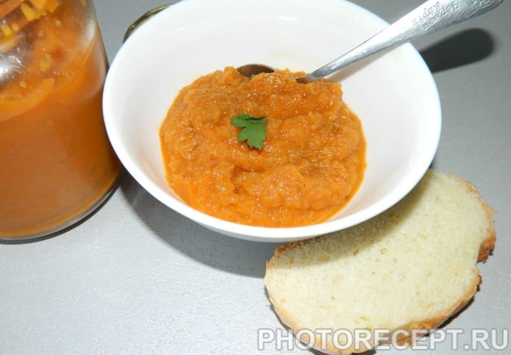 Фото рецепта - Кабачковая икра без обжарки для зимнего хранения - шаг 6
