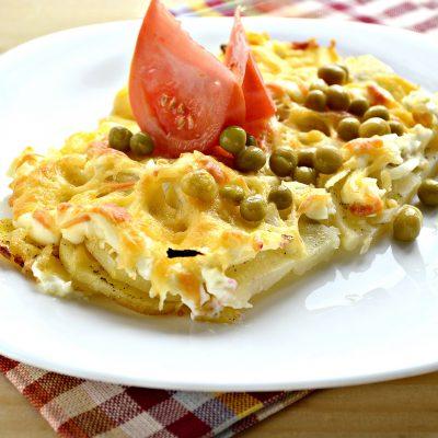 Картошка по-французски в духовке - рецепт с фото