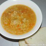 Суп харчо с фрикадельками