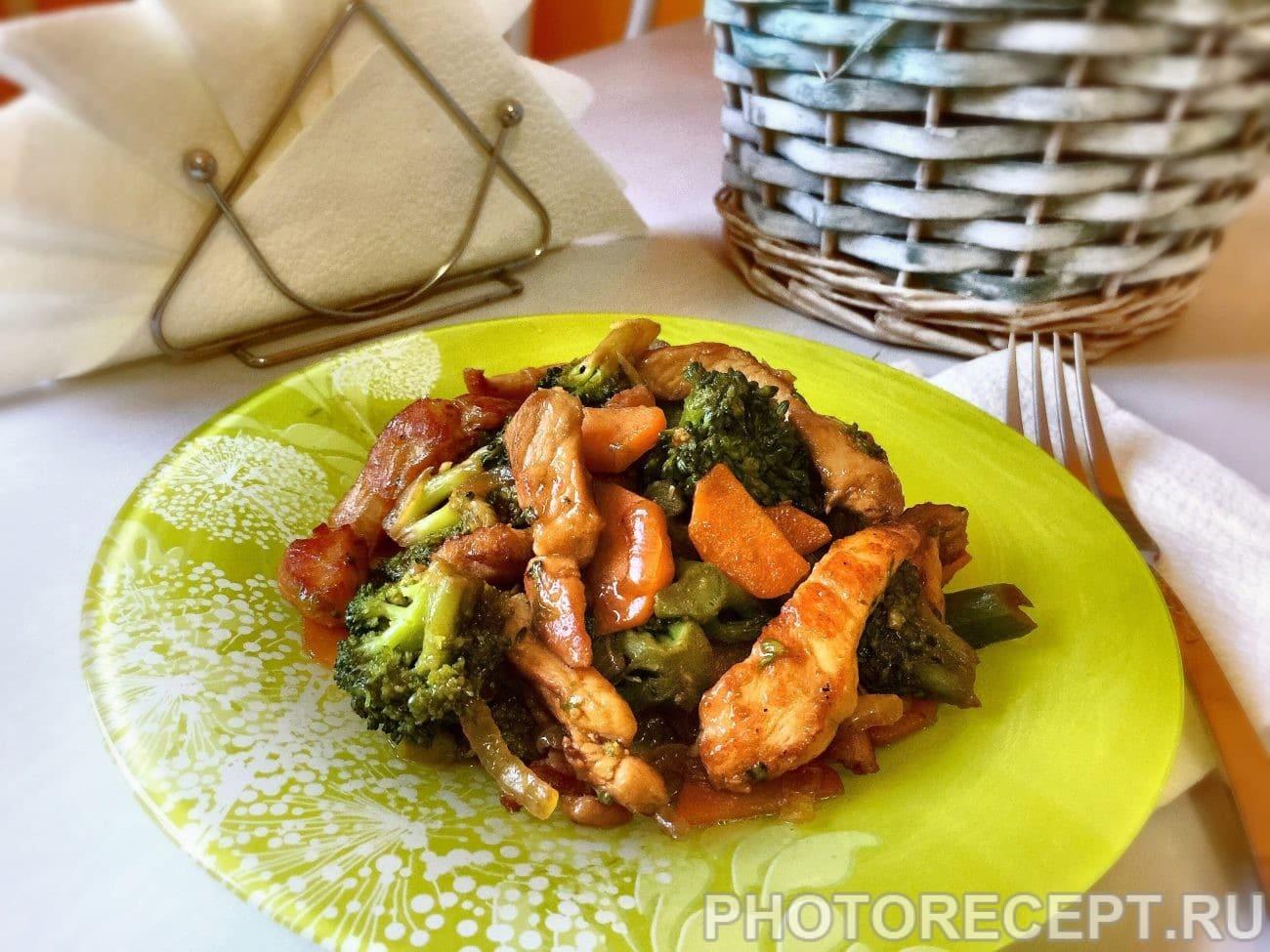 капуста брокколи блюда на сковороде