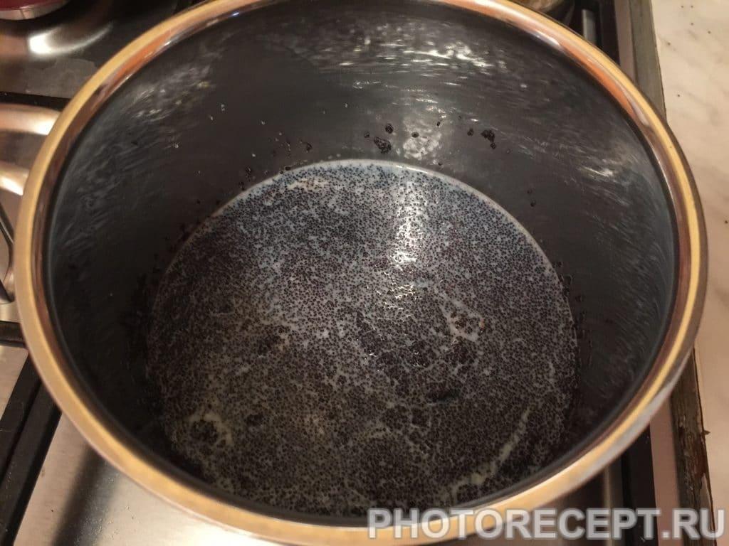 Фото рецепта - Булочки с маком и шоколадной глазурью - шаг 6