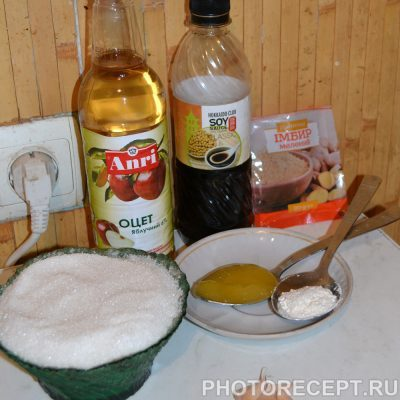 Фото рецепта - Куриные бедрышки с соусом Тирияки - шаг 1