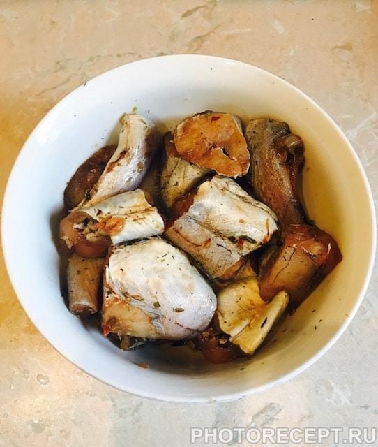 Фото рецепта - Рыба с овощами в пароварке - шаг 1