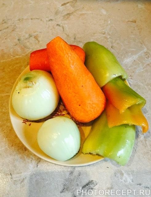 Фото рецепта - Рыба с овощами в пароварке - шаг 2
