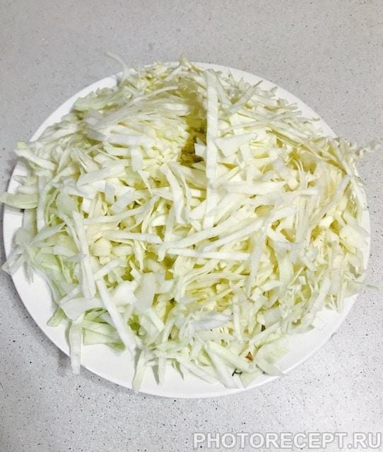 Фото рецепта - Салат из капусты - шаг 1