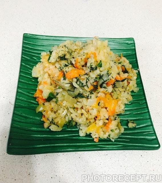 Фото рецепта - Рис с овощами - шаг 6