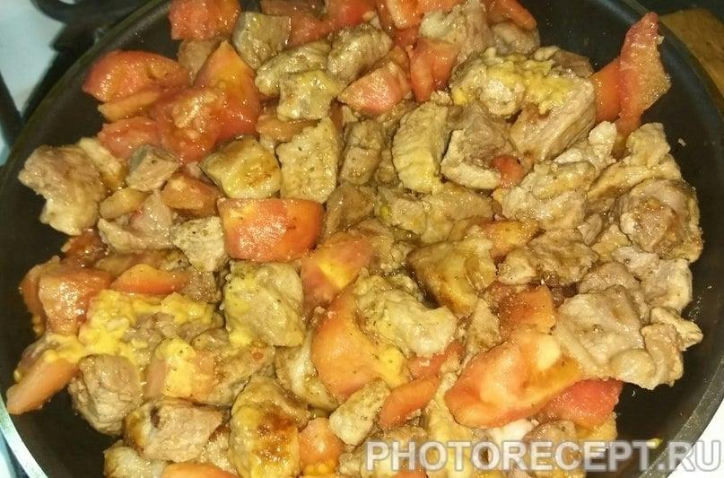 Фото рецепта - Чахохбили из свинины - шаг 4