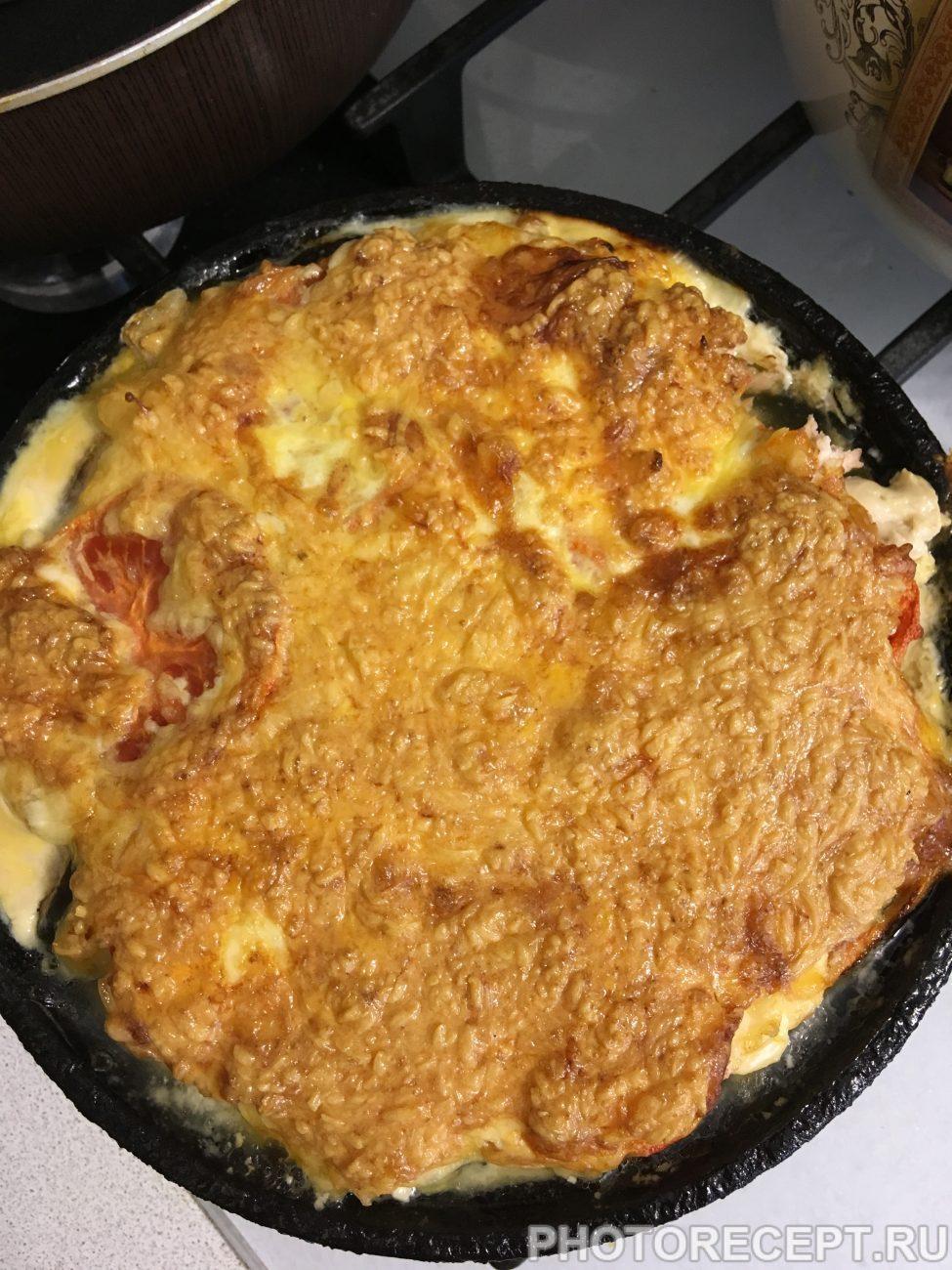 Горбуша в духовке сыром рецепт пошагово