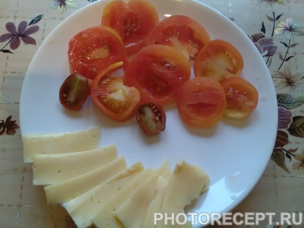 Фото рецепта - Конвертики из куриного филе с сыром - шаг 3