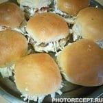 Гамбургеры «Домашние» с мясной котлетой