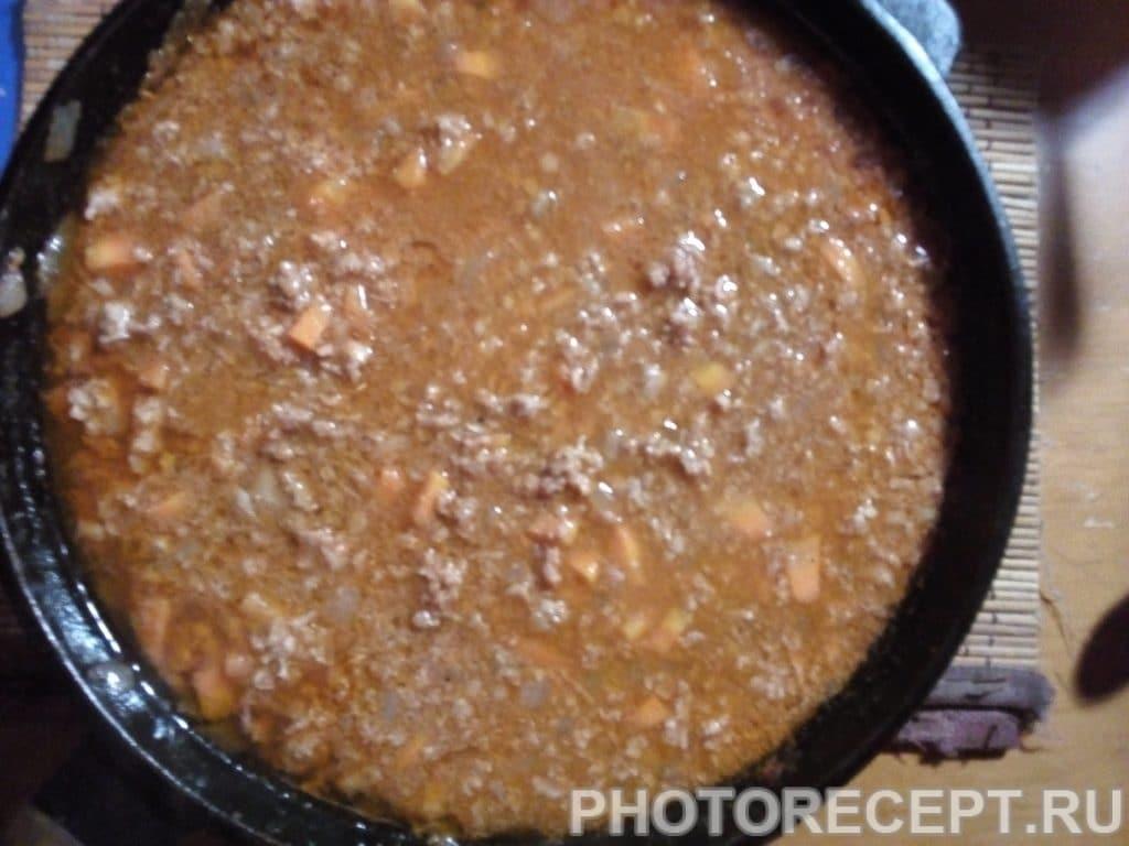 Фото рецепта - Лазанья с фаршем - шаг 3