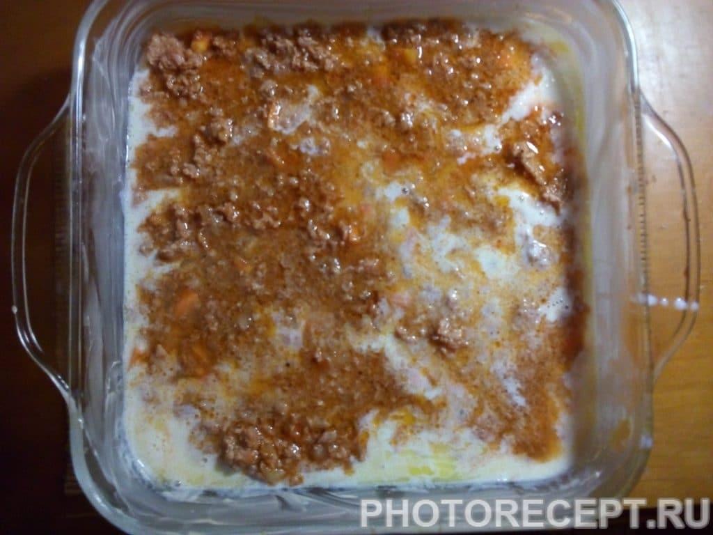 Фото рецепта - Лазанья с фаршем - шаг 8