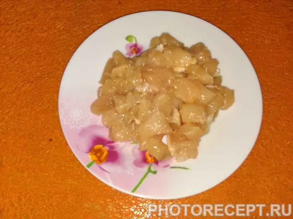 Фото рецепта - Запеченный фаршированный перец под сыром - шаг 2