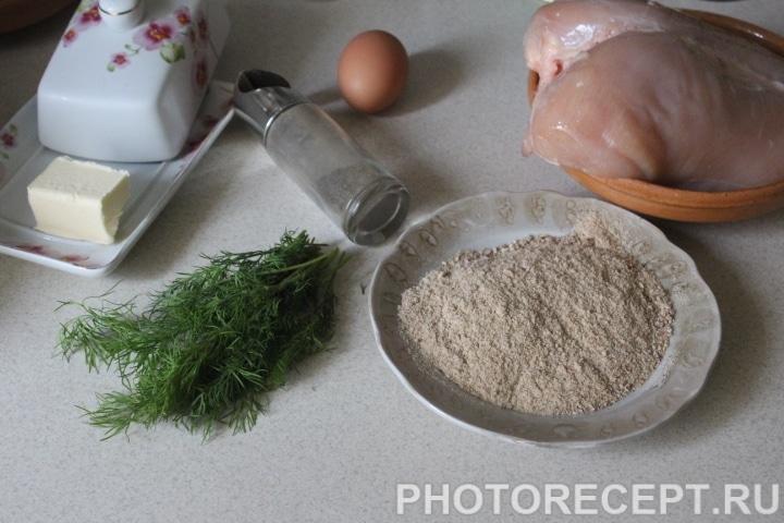 Фото рецепта - Котлеты по-киевски - шаг 1